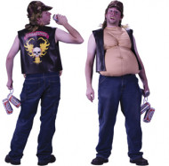 Frank The Tank Beer Belly Shirt Adult Costume