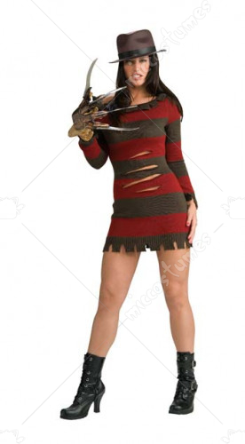 Ms. Krueger Naughty Nightmare Freddy Female Adult Costume