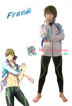 Free! Iwatobi Swim Club Sportswear Cosplay Costume