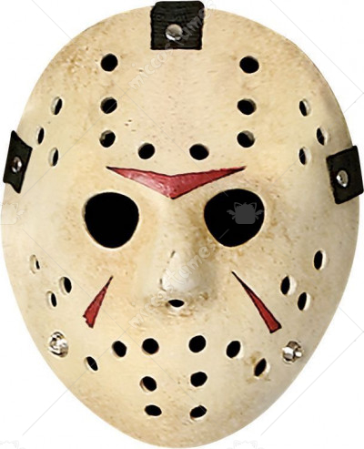 Friday the 13th jason voorhees deluxe fiberglass mask