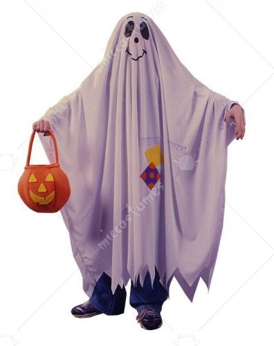 Friendly Ghost Child Costume