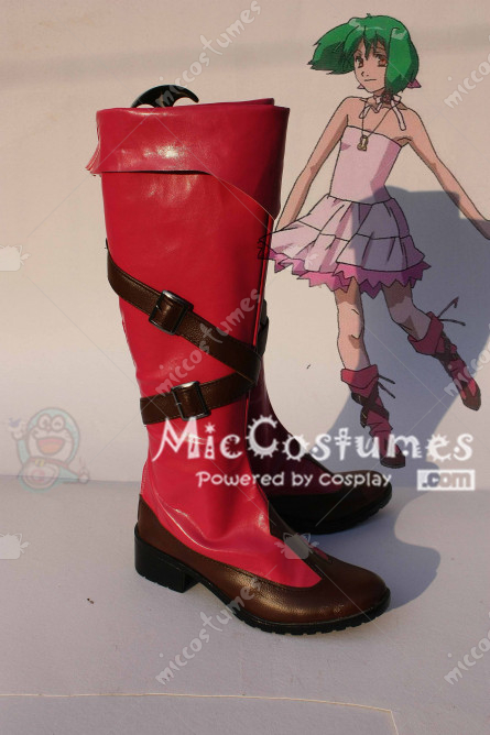 Frontier Ranka Lee Cosplay Boots