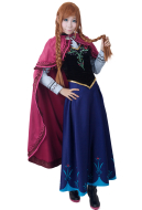 Frozen Princess Anna Cosplay Costume