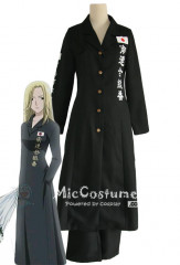 Fruits Basket Black Arisa Uotani Uniform Costume