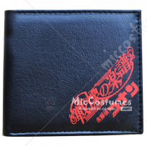 Full Score of Fear Conan Bifold Wallet Black