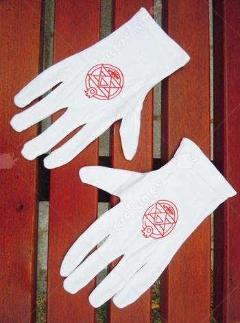 Fullmetal Alchemist Cosplay Gloves