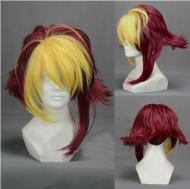 Fullmetal Alchemist Edward Elric Colored Cosplay Wig
