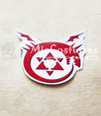 Fullmetal Alchemist Human Transmutation Cosplay Tattoo Sticker