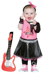 Future Rock Star Girl Costume