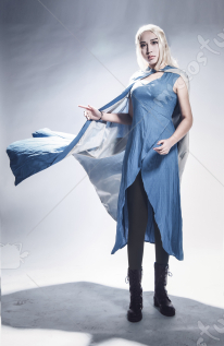 Game of Thrones A Song of Ice And Fire Season 4 Daenerys Targaryen Cosplay Costume
