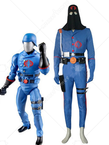 G I Joe Cobra Commander Cosplay Costume