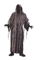 Gauze Zombie With Flashing Eyes Adult Costume