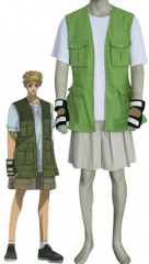 Get Backers Amano Ginji Cosplay Costume