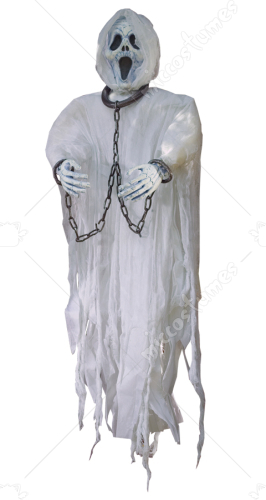 Ghost Face Hanging Figure 36