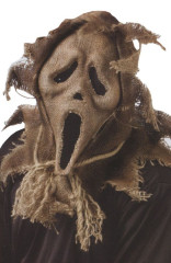 Ghost Face Scarecrow Mask