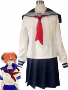 Gintama Kagura Cosplay School Uniform