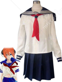 Gintama Kagura Cosplay School Uniform