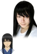 Gintama Kotaro Katsura Cosplay Wig