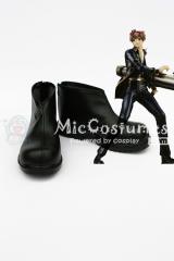 Gintama Sogo Okita Cosplay Shoes
