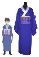 Gintama Yoshiwara Shinpachi Shimura Cosplay Costume