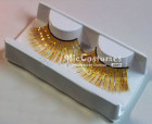 Gold False Eyelashes For Loli Vixen Cosplay