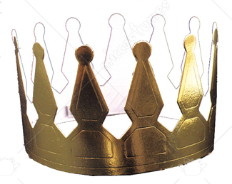 Gold Foil Crown