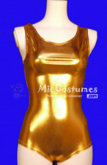 Gold Japanese School Swimsuit Gym Suit