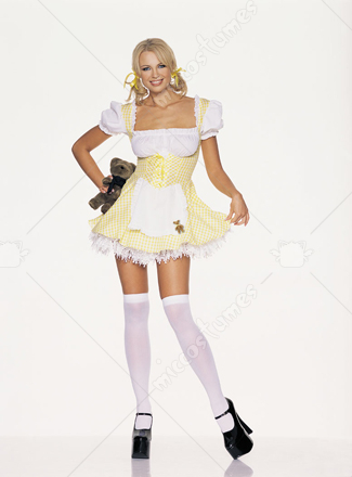 Goldilocks Yellow Adult Costume