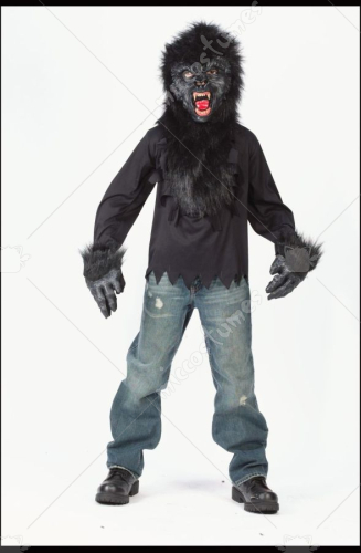 Gorilla Mask Gloves Shirt Costume