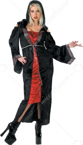 Gothic Affair Adult Plus Size Costume