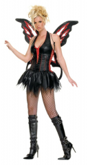 Gothic Fairy Sexy Adult Costume
