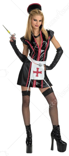 Gothic Naughty Nurse Teen and Adult Costume