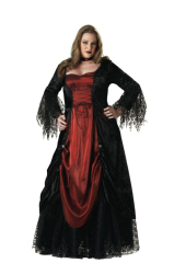 Gothic Vampira Adult Plus Costume