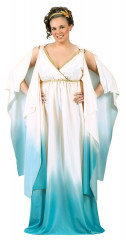 Greek Atlantis Goddess Plus Size Costume