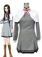 Grey Tokimeki Memorial OL girls school uniform cosplay costume