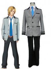 Grey Tokimeki Memorial OL men school uniform cosplay costume