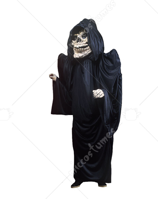 Grim Reaper Head Up Body Mascot