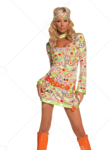 Groovy Chick Adult Costume