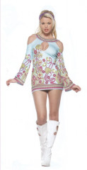 Groovy Go Go Key Hole Adult Costume