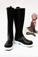 Guilty Crown Inori Yuzuriha Cosplay Black Boots
