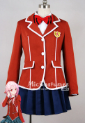 Guilty Crown Inori Yuzuriha Tennozu School Uniform