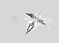 Guilty Crown Ouma Shu Cosplay Tattoo Sticker