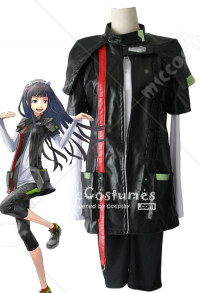 Guilty Crown Tsugumi Copslay Costume