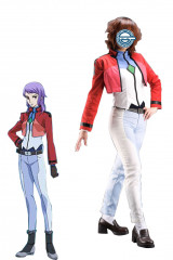 Gundam 00 Anew Returner Cosplay Costume