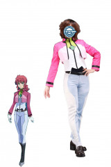Gundam 00 Feldt Grace Cosplay Costume