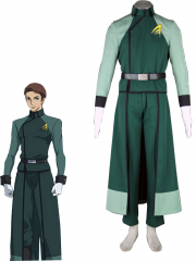 Gundam A Law Men Military Uniform