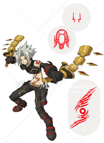 Hack Haseo Cosplay Tattoo Sticker