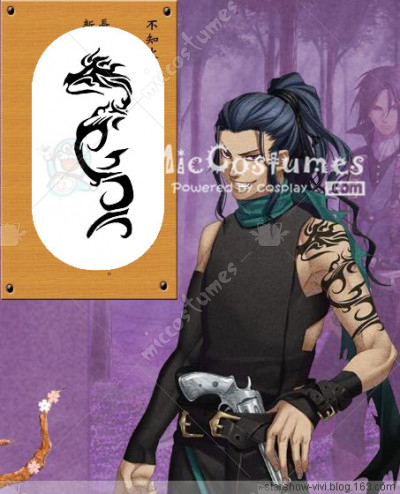 Hakuouki Shinsengumi Kitan Shiranui Kyou Cosplay Sticker