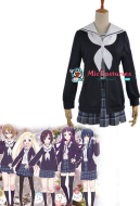 Hanayamata Cosplay Costume School Uniform