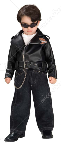 Harley Davidson Jacket Toddler Costume